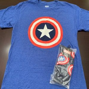 Captain America T-shirt with matching socks